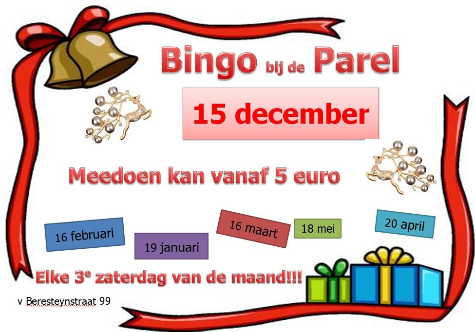 Kerst bingo