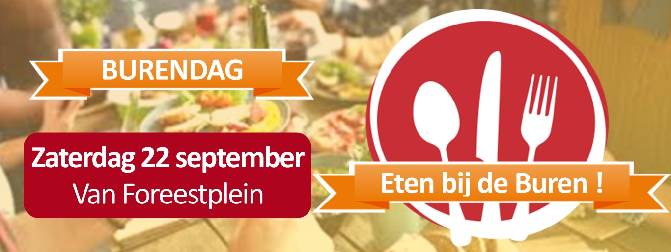 Burendag 22 september 2018